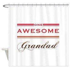 One Awesome Grandad Shower Curtain