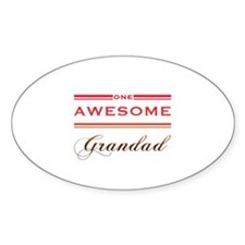 One Awesome Grandad Decal