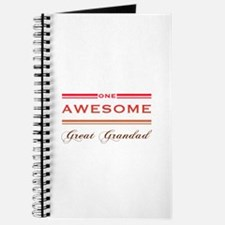 One Awesome Great Grandad Journal
