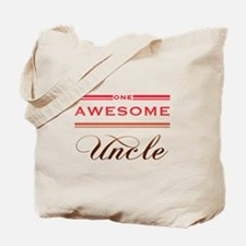 One Awesome Uncle Tote Bag