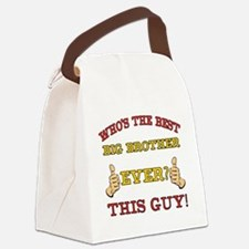 Best Big Brother Ever Canvas Lunch Bag