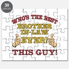 Best Brother-In-Law Ever Puzzle