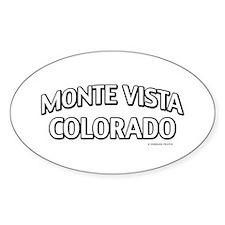 Monte Vista Colorado Decal