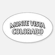 Monte Vista Colorado Decal