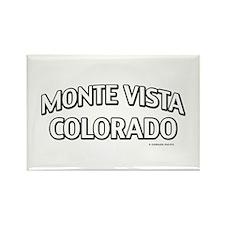 Monte Vista Colorado Rectangle Magnet