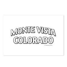 Monte Vista Colorado Postcards (Package of 8)