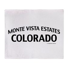 Monte Vista Estates Colorado Throw Blanket