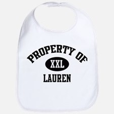 Property of Lauren Bib