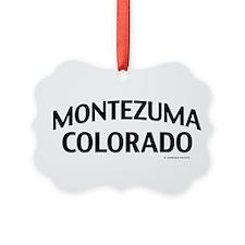 Montezuma Colorado Ornament