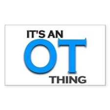 ITS AN OT THING (BLUE) Decal