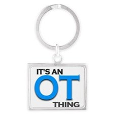 ITS AN OT THING (BLUE) Keychains