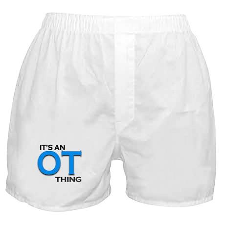 ITS AN OT THING (BLUE) Boxer Shorts