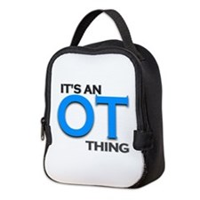 ITS AN OT THING (BLUE) Neoprene Lunch Bag