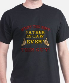 Best Father-In-Law Ever T-Shirt