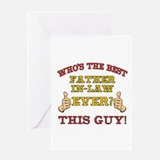 Best Father-In-Law Ever Greeting Card