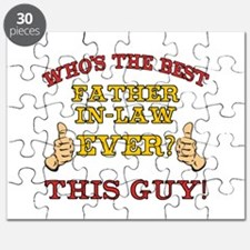 Best Father-In-Law Ever Puzzle