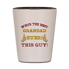 Best Grandad Ever Shot Glass