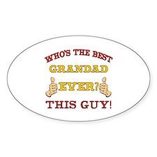 Best Grandad Ever Decal