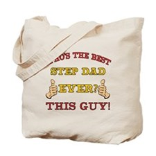 Best Step Dad Ever Tote Bag