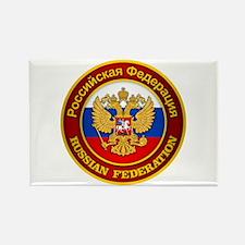 Russia COA Rectangle Magnet