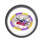 Scrapbooking and Cooking Wall Clock