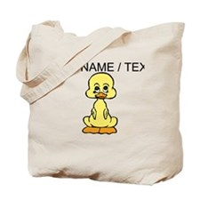 Custom Baby Duck Tote Bag