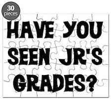 HAVE YOU SEEN JR'S GRADES? Puzzle