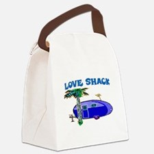 LOVE SHACK Canvas Lunch Bag