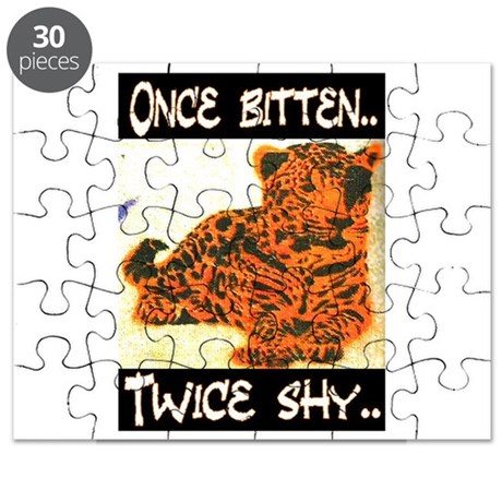 ONCE BITTEN - TWICE SHY Puzzle