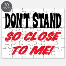DON'T STAND SO CLOSE... Puzzle