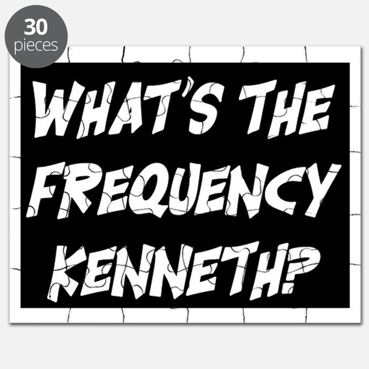 WHAT'S THE FREQUENCY? Puzzle