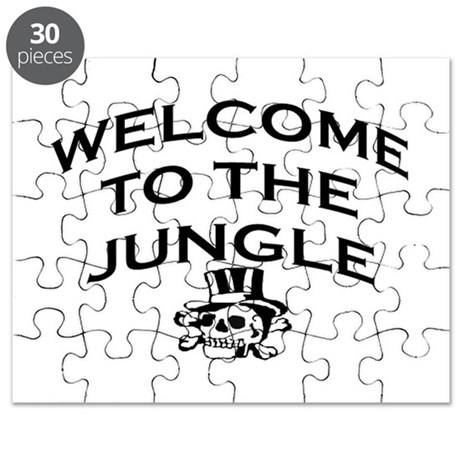 WELCOME TO THE JUNGLE Puzzle