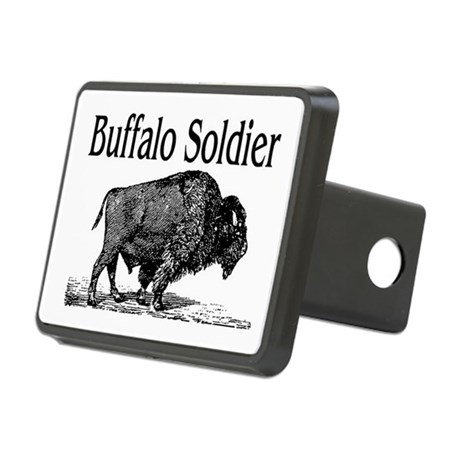 Buffalo soldier hitch cover by rockgenius for Buffalo soldiers coloring pages