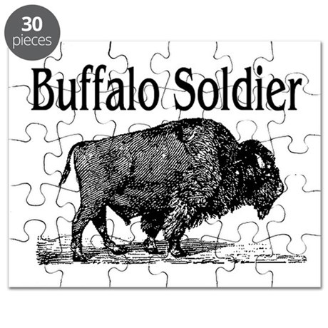 Buffalo soldier puzzle by rockgenius for Buffalo soldiers coloring pages
