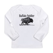 BUFFALO SOLDIER Long Sleeve Infant T-Shirt