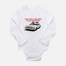 DON'T GIVE A DAMN Long Sleeve Infant Bodysuit