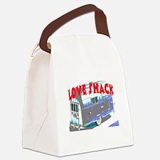 LOVE SHACK (TRAILER) Canvas Lunch Bag