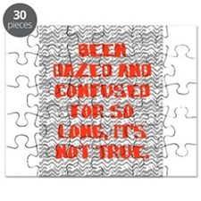 DAZED AND CONFUSED Puzzle