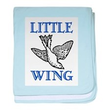 LITTLE WING baby blanket