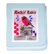ROCKIN' ROBIN baby blanket