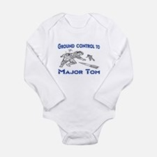 MAJOR TOM Long Sleeve Infant Bodysuit