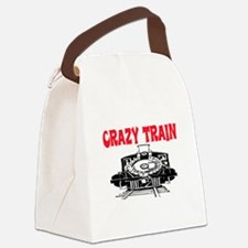 CRAZY TRAIN Canvas Lunch Bag