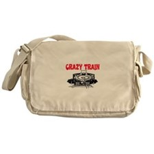 CRAZY TRAIN Messenger Bag