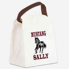 MUSTANG SALLY Canvas Lunch Bag