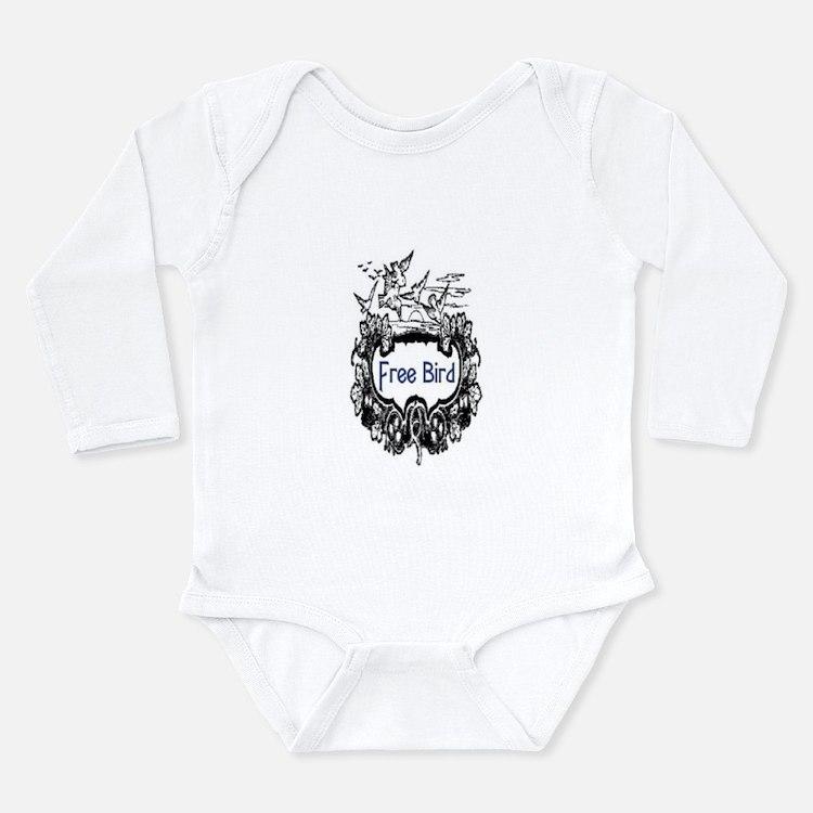 FREE BIRD Long Sleeve Infant Bodysuit