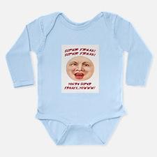 SUPER FREAK Long Sleeve Infant Bodysuit