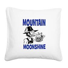 MOUNTAIN MOONSHINE Square Canvas Pillow