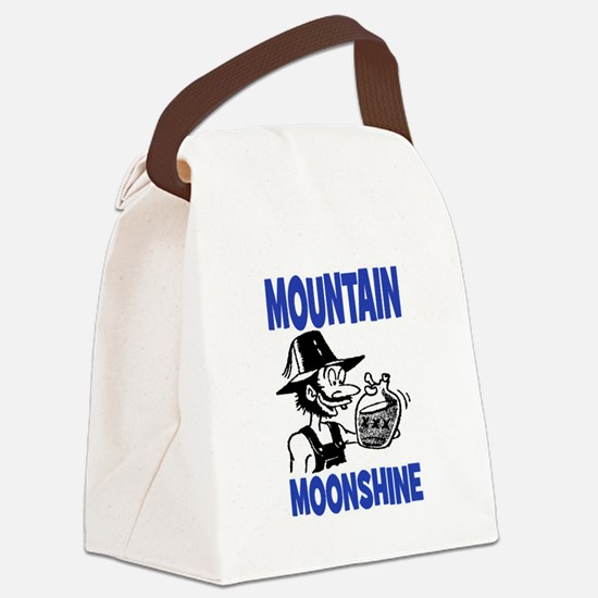 MOUNTAIN MOONSHINE Canvas Lunch Bag