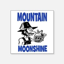 "MOUNTAIN MOONSHINE Square Sticker 3"" x 3"""