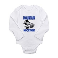 MOUNTAIN MOONSHINE Long Sleeve Infant Bodysuit